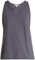 SKIN Striped pyjama tank top
