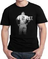 sport Respect Derek Jeter Re2pect 2 On Back New York Uniform MJ Baseball for Men T shirt