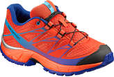 Salomon Lava Orange & Tomato Red Wings Trail Running Shoe - Kids