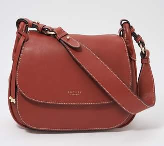 Radley London London Leather Large Flapover Shoulder Bag - Harper Road
