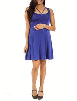 24/7 Comfort Apparel 24-7 COMFORT APPAREL Sheath Dress-Maternity