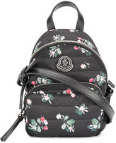 Moncler floral Georgine bag - women - Leather/Polyester - One Size