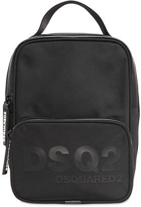 DSQUARED2 Dsq2 Print Nylon Vertical Crossbody Bag