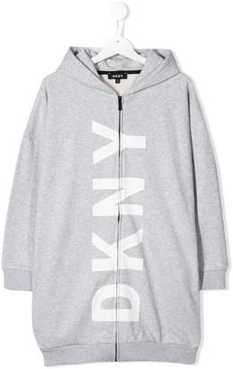 DKNY Logo Print Jacket