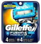 Gillette Fusion® ProShield Chill Men's Razor Blade Refills - 4 ct