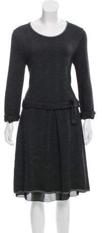Christian Dior Knit Midi Dress