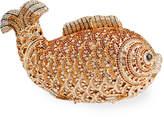 Natasha Accessories Limited Crystal Beaded Fish Clutch Bag