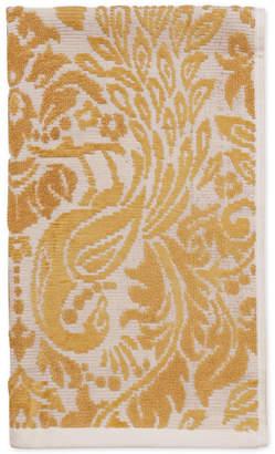 "CHF Peacock Cotton 16"" x 28"" Hand Towel Bedding"