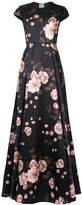 Rochas floral print gown