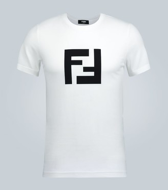 Fendi Crewneck T-shirt with logo