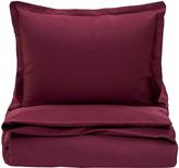 Gant Sateen Duvet Cover Purple Fig King
