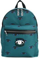 Kenzo Eyes backpack - men - Acrylic/Polyester - One Size