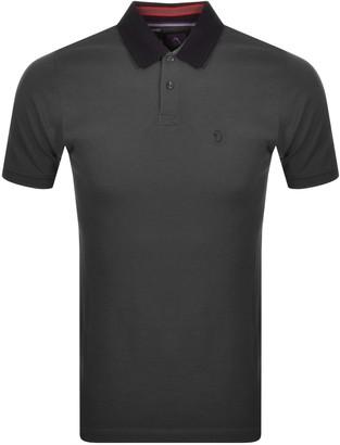 Luke 1977 Bonham Short Sleeve Polo T Shirt Grey