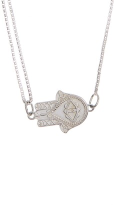 Alex and Ani Hamsa Pull Chain Necklace