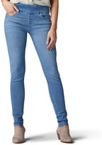 Lee Women's Sculpting Pull-On Mid-Rise Skinny Jeans