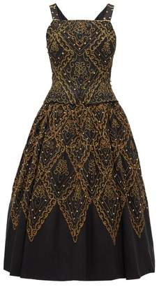Christian Dior William Vintage 1955 Mexico Faille Gown - Womens - Black