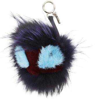 Fendi Black Fox Bag charms
