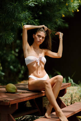 Billabong Candy Printed Bandeau Bikini Top