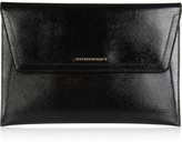Burberry Shoes & Accessories Textured patent-leather document holder