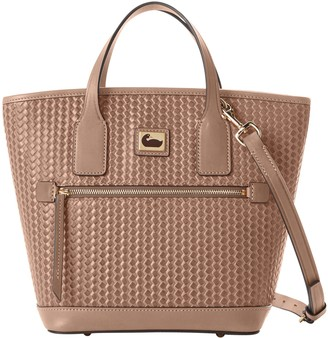 Dooney & Bourke Camden Woven Small Convertible Tote