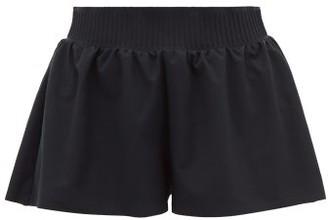 Vaara Stella Stretch-crepe Shorts - Womens - Black
