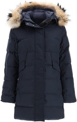 Pyrenex grenoble parka with fur