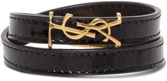 Saint Laurent Double-wrap Bracelet