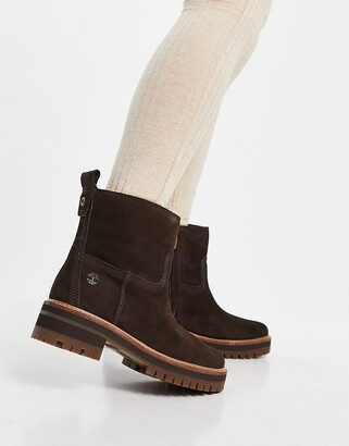 Timberland ankle boots in brown