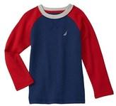 Nautica Boys' Baseball Shirt.