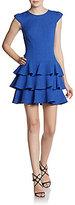 Rachel Zoe Tiered Pucker Dress