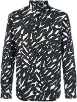 Versace scribble print shirt