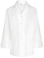 John Lewis Girls' Easy Care 3/4 Sleeve Blouse, White