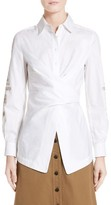 Yigal Azrouel Women's Embroidered Cotton Blouse