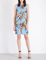 Emilio Pucci Bamboo-print jersey shift dress