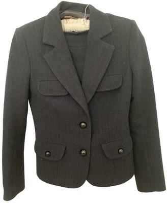 J&M Davidson J & M Davidson Blue Wool Jacket for Women