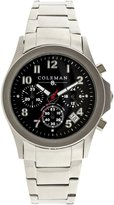 Coleman Men's COL7110 Casual Silver Band Watch
