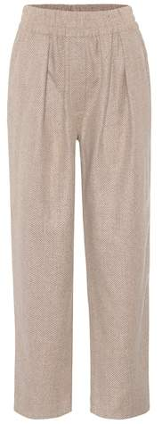Acne Studios Tirza wool-blend trousers