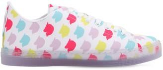 Irene Is Good 10mm Unicorn Print Cotton Sneakers