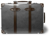 Globe-trotter 21 Leather-Trimmed Carry-On Suitcase
