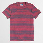 J.Crew Factory Tall slim striped pocket T-shirt
