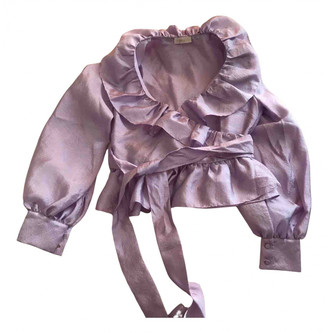 Stine Goya Purple Polyester Tops