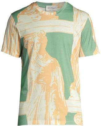 Salvatore Ferragamo Marble Statue T-Shirt