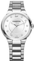 Swarovski City Stainless Steel White-Dial Bracelet Watch