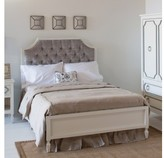 The Well Appointed House Newport Cottages Beverly Bed with Tufted Panel-Available in a Variety of Finishes