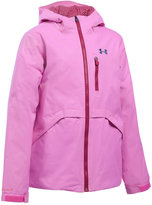 Under Armour Coldgear® Reactor Hooded Jacket, Big Girls (7-16)