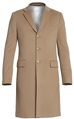 Givenchy Long Wool Cashmere Coat
