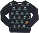 Nice Things Frogs Wool Blend Sweater