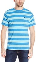 U.S. Polo Assn. Men's Stripe Crew Neck T-Shirt