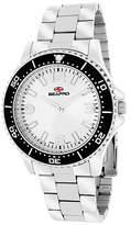 Seapro Mens Silver Tone White Tideway Bracelet Watch Family