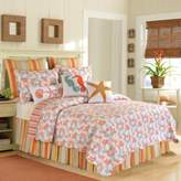 Bed Bath & Beyond Catalina King Quilt in Coral